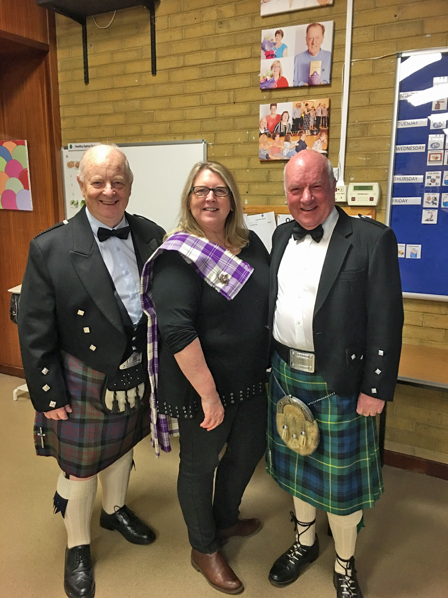 martina and two scottish gents